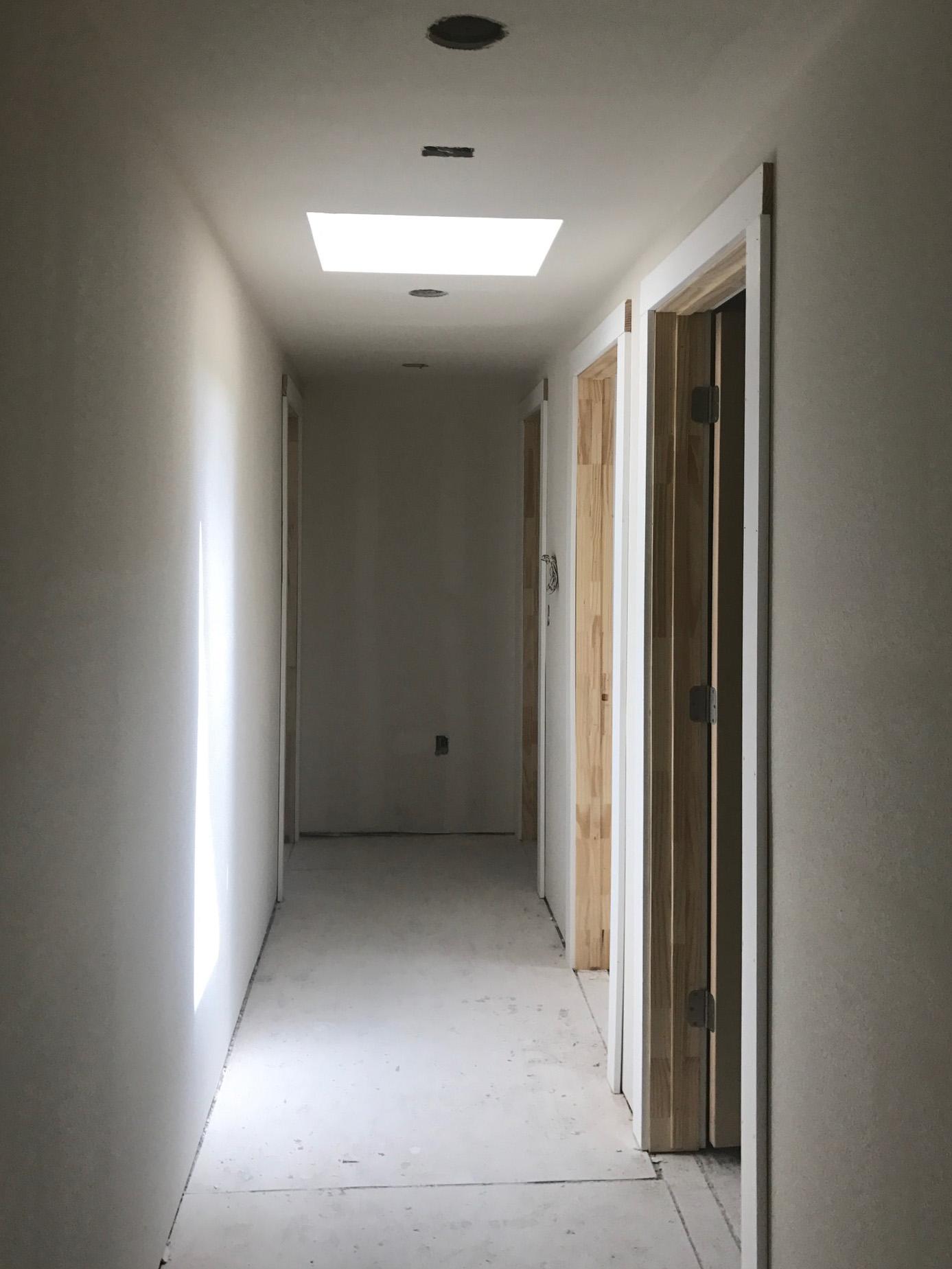Elizabeth Baird Architecture-Westhill-Hallway Skylight.JPG