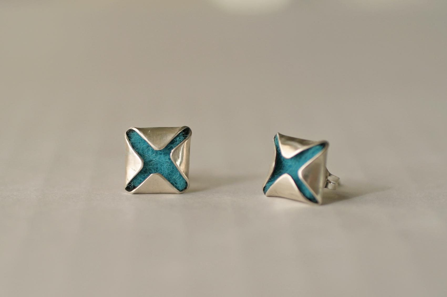 Elizabeth Baird Architecture-Jewelry-silver and felt earings.jpg