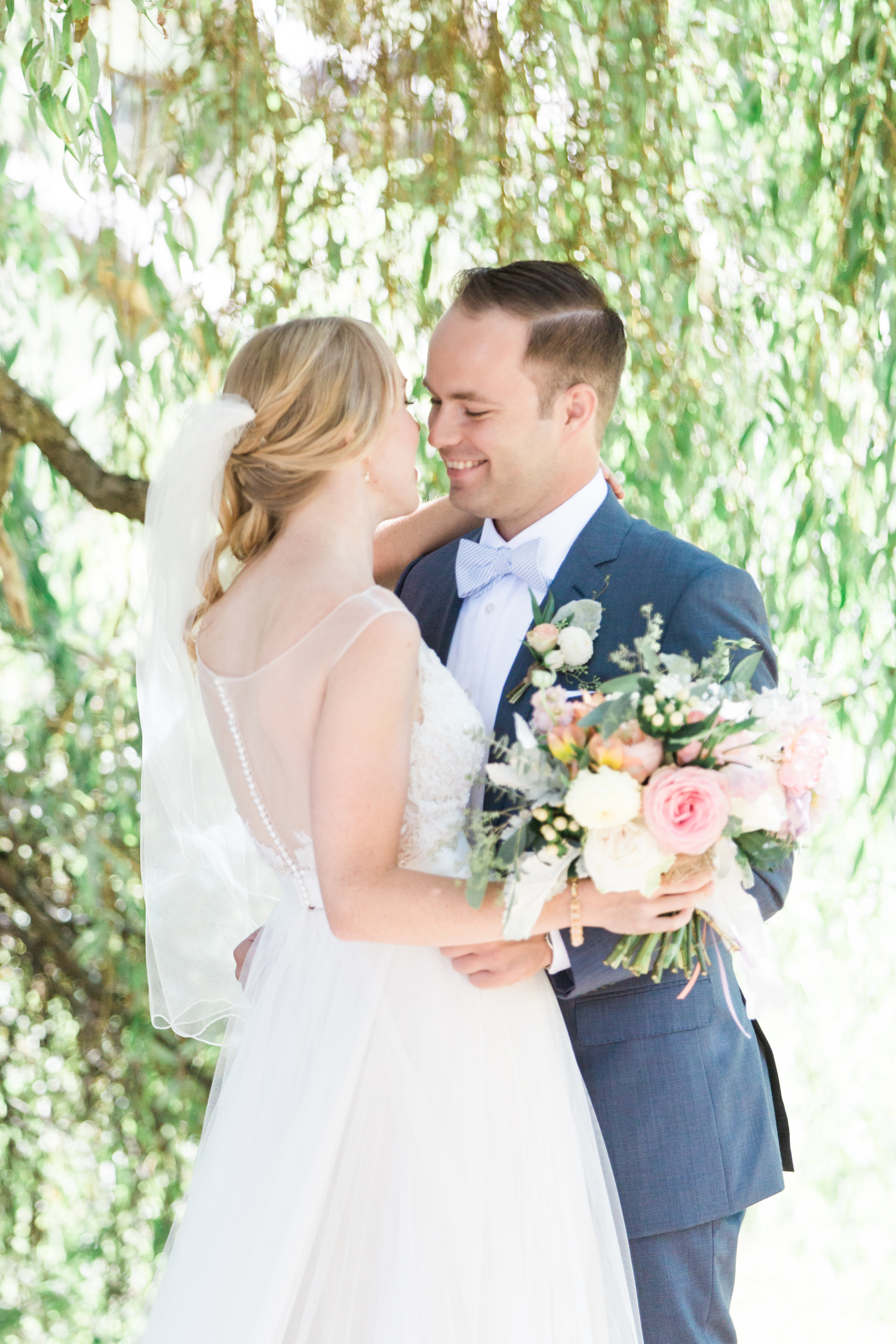 W + T - Romantic Outdoor Garden Style Wedding at UBC Botanical Gardens, Vancouver