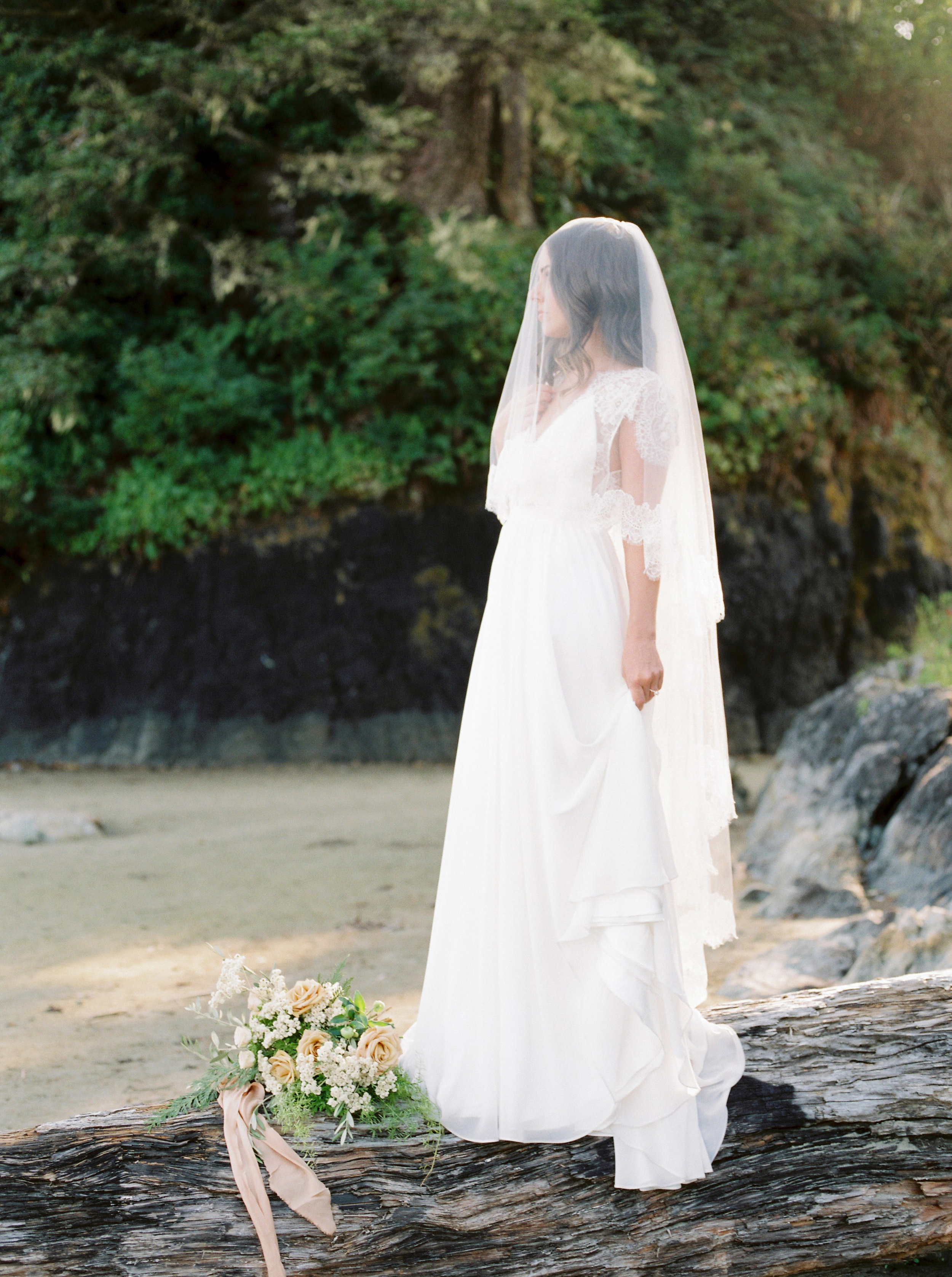 Bridal Portraits - West Coast Luxury in Tofino, Vancouver Island