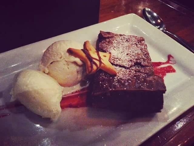 Fudege brownie from Lonestar Rotorua.