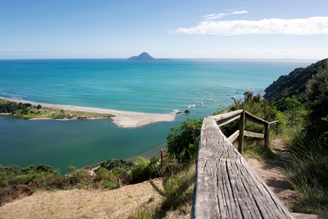 This beautiful scene greets you on the Kohi Point track as you make your way around the coast.