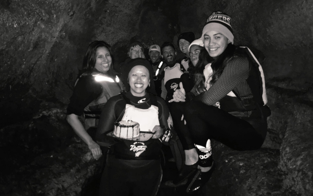 OK, so I spent my 35th birthday in a glow worm cave! That was pretty special, definitely something I won't forget.