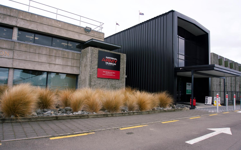 The NZ National Army Museum in Waiouru.