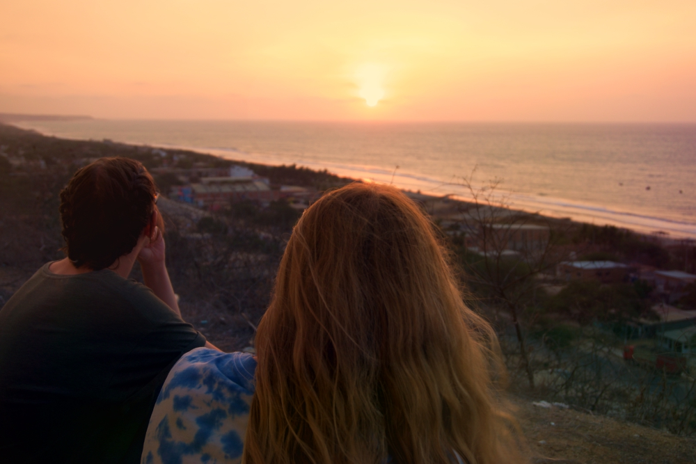 Amelia, Jess and I watching the sunset from the lighthouse in Zorritos. The next day they took a flight to Arequipa and I headed to Mancora and then Trujillo.