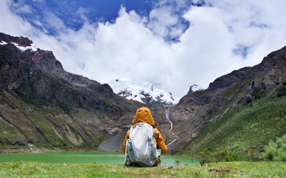 At 4,250m above sea level, the hike to Laguna Shallap is one of my easier hikes in Huaraz so far.