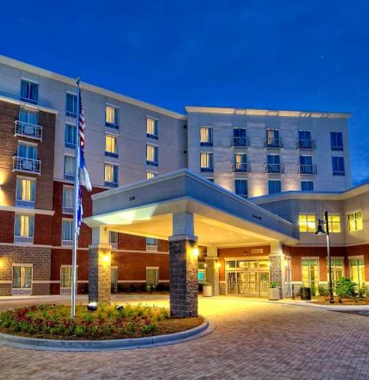 Hilton Garden Inn.  Click image for hotel website.