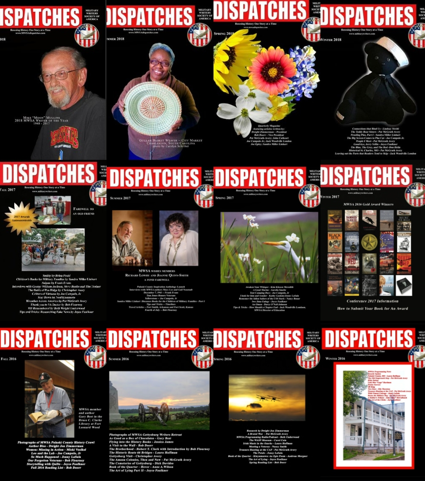 Click to visit our  Dispatches  page