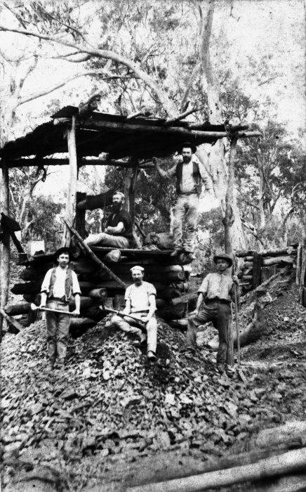 Early Gold Miners, Kumara
