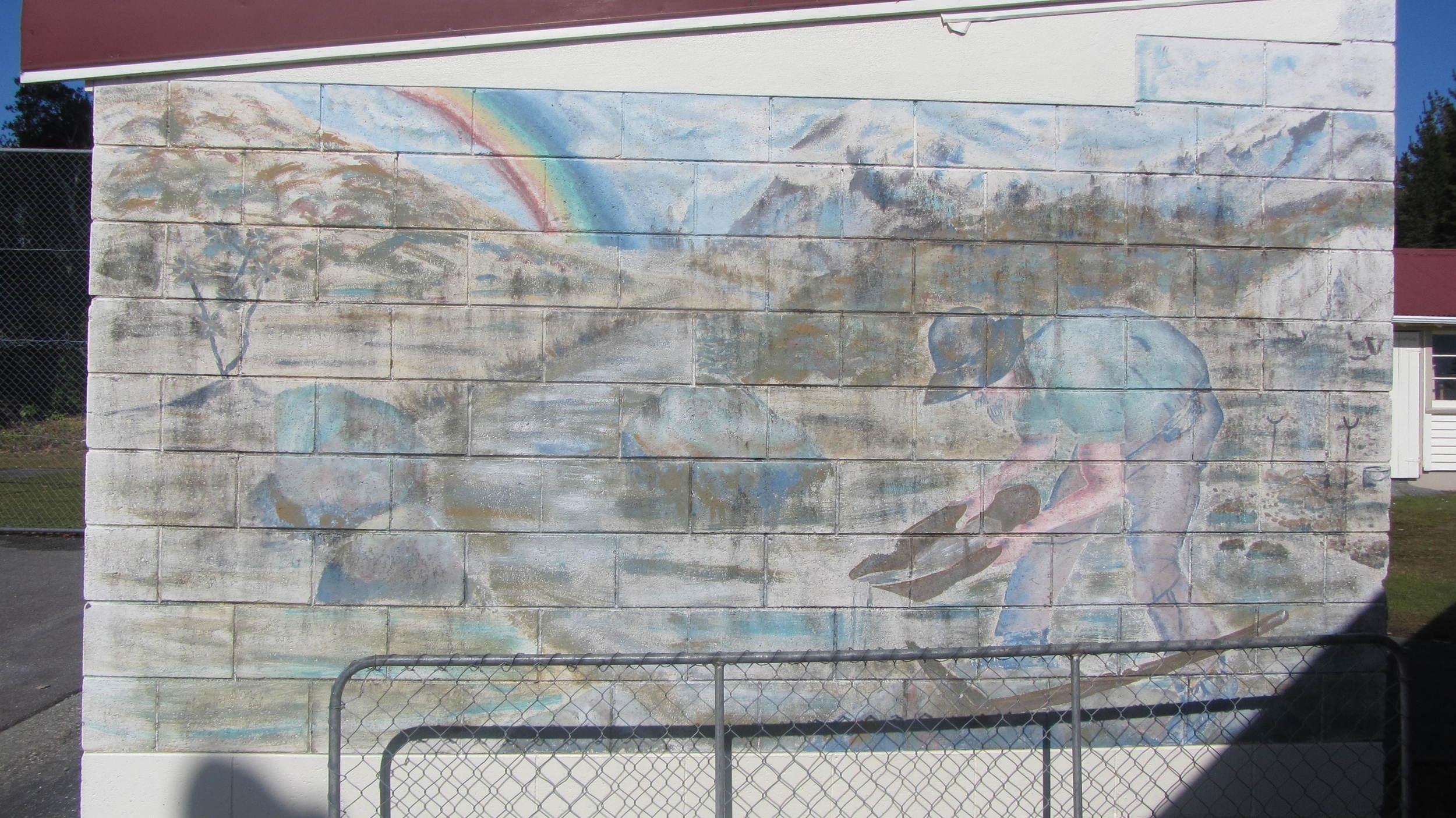 Kumara School Mural