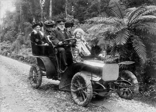 A Seddon family car journey