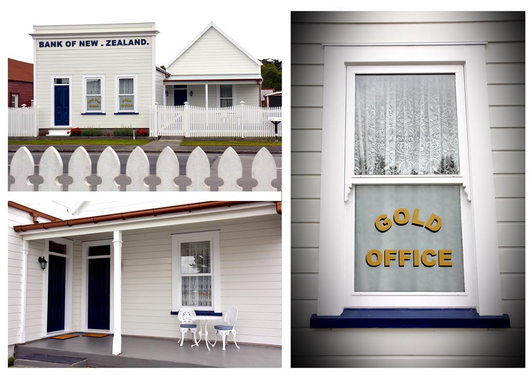The Old Bank, Victorian Themed Accommodation in Kumara