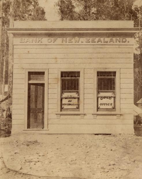 Bank of New Zealand, Kumara, January 1877