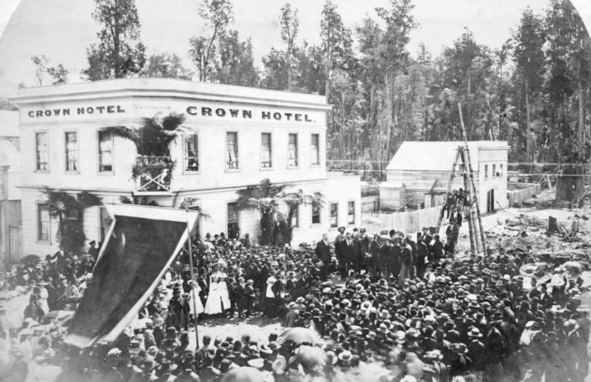 Sir George Grey's Visit, Kumara 1878