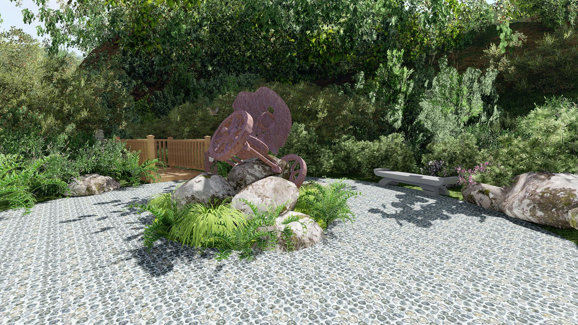 Sculpture Garden Artists Impression