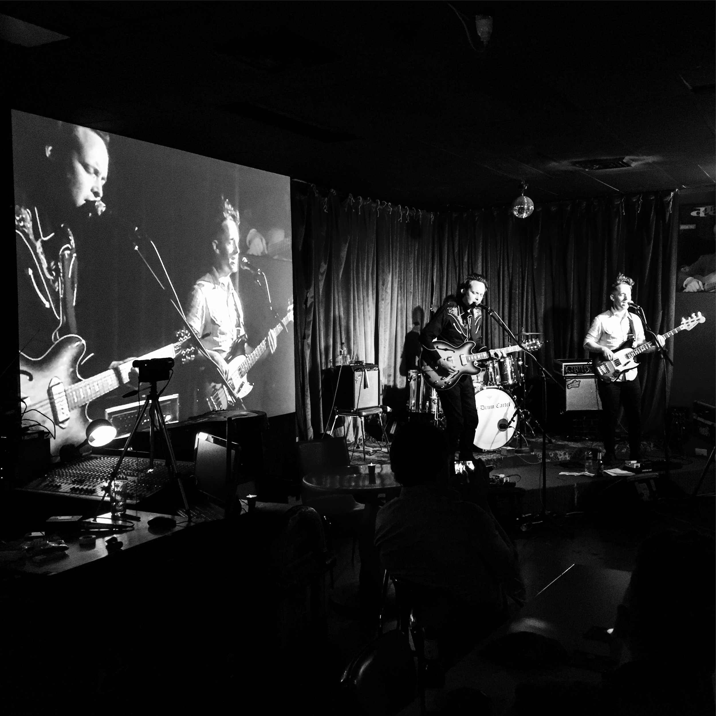 Photo by Pete Kilroy, taken at Django Bar, Sydney, March 17th 2017.