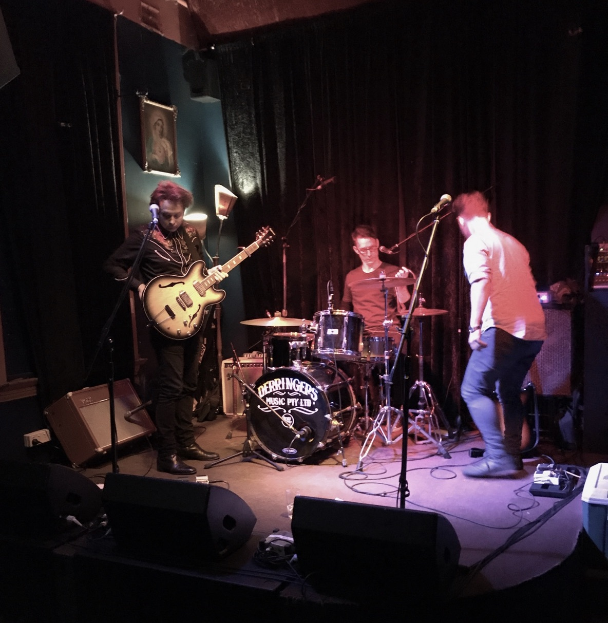 CP Experiment at The Grace Emily, Adelaide, 29/7/2017. Photo by Sonja Lisk.