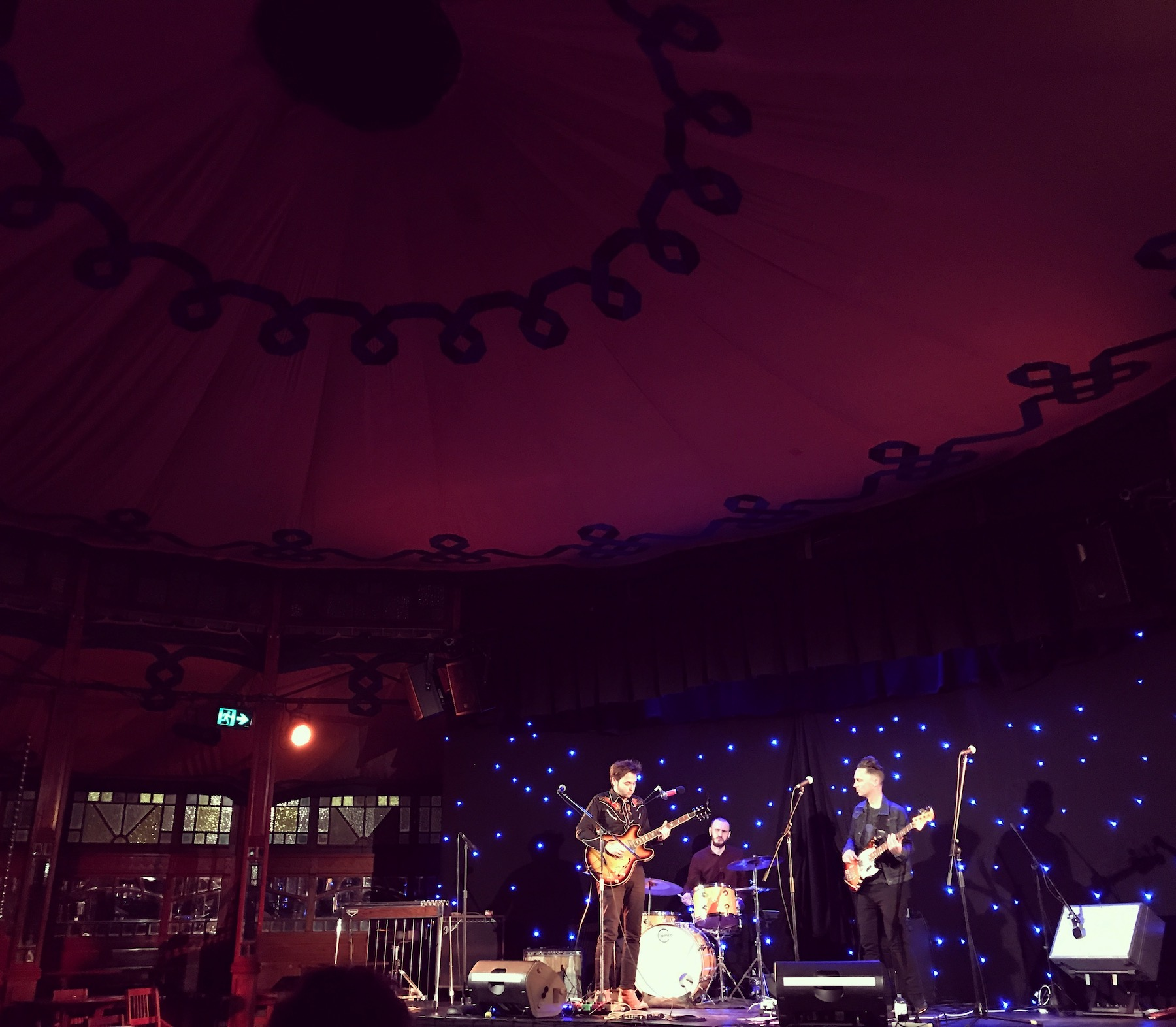 CP Experiment at Melba Spiegeltent, June 1st, 2018. Photo by Brooke Russell.