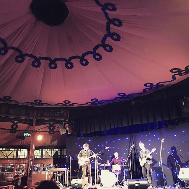 The Experiment is playing next Thursday July 12th at @retreat_hotel_brunswick in a double header with John Fowler's Vanity Project. Power pop and desert twang for everyone. Photo credit to @brookerussmusic taken at the Spiegeltent on June 1st 2018.