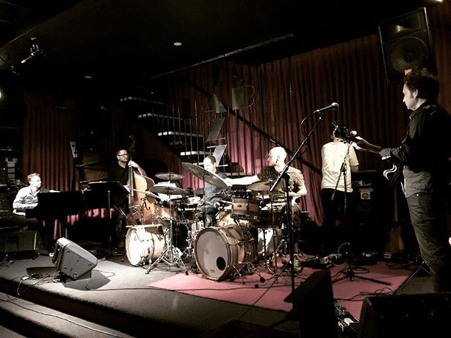 What a fun gig at @thejazzlab last night with @trichotomyband and our 'double band' setup. Awesome to play their tunes, and great to hear their take on ours! We'll be doing it again, I reckon.