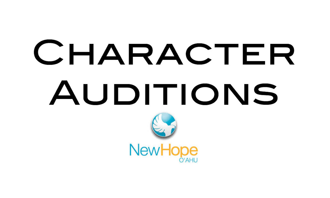Character Auditions