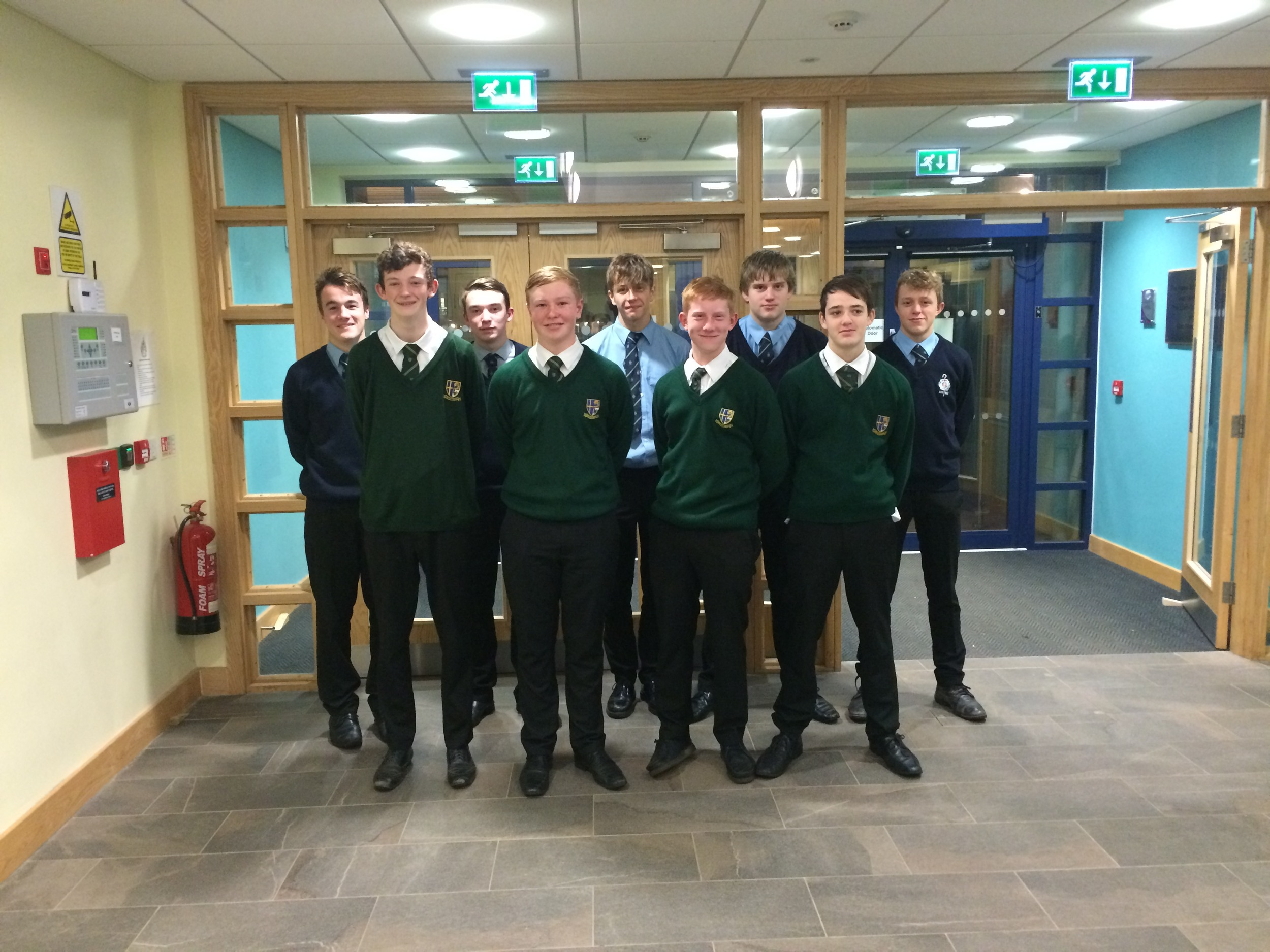 Under 18's Water Polo Team