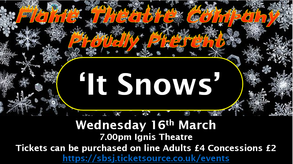 poster it snows production