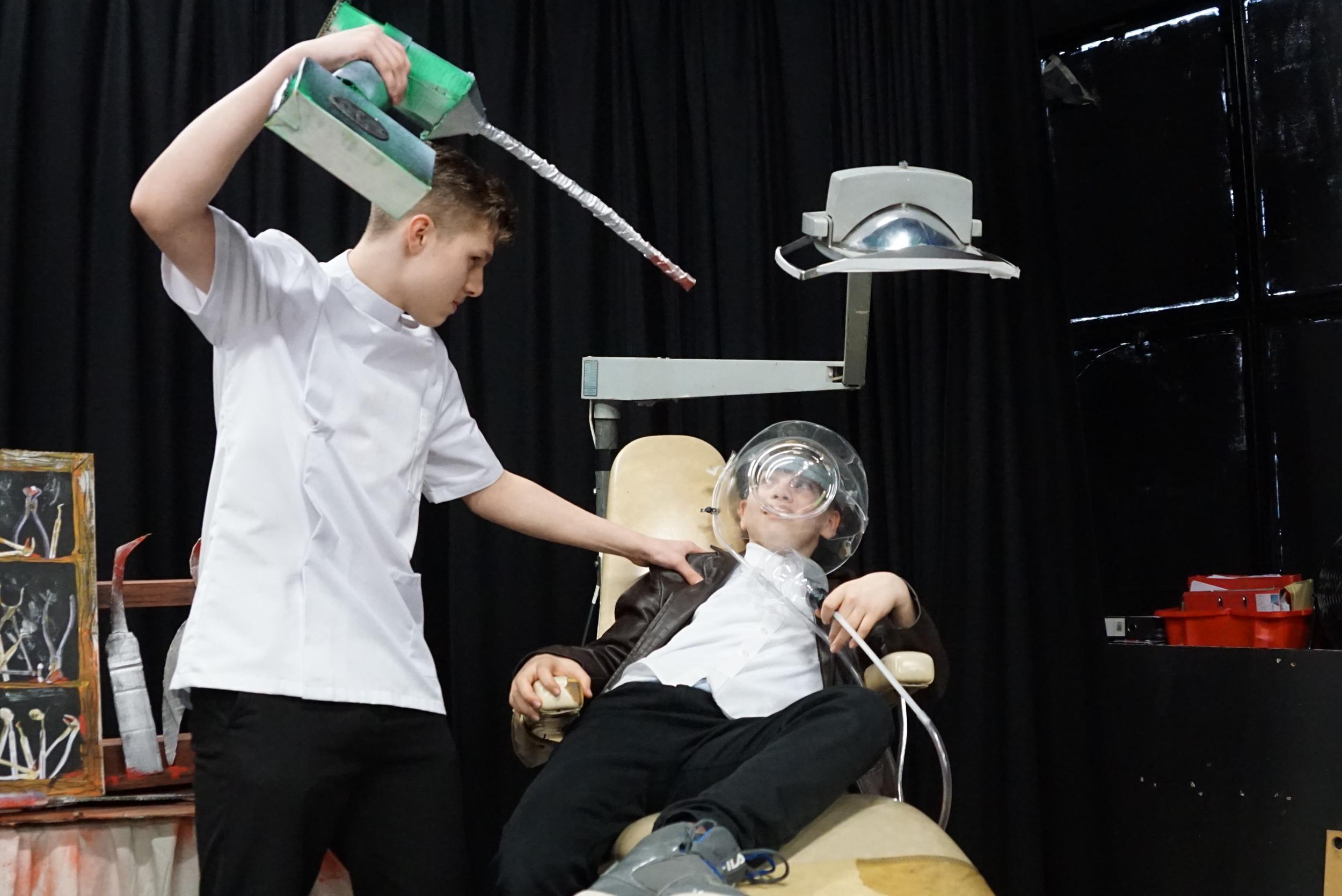 dentist scene