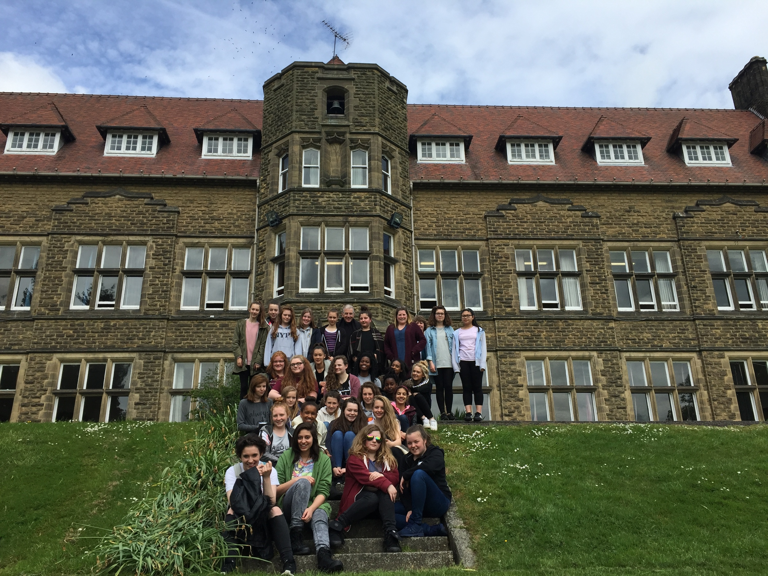 Year 9 Girls at Ampleforth Abby