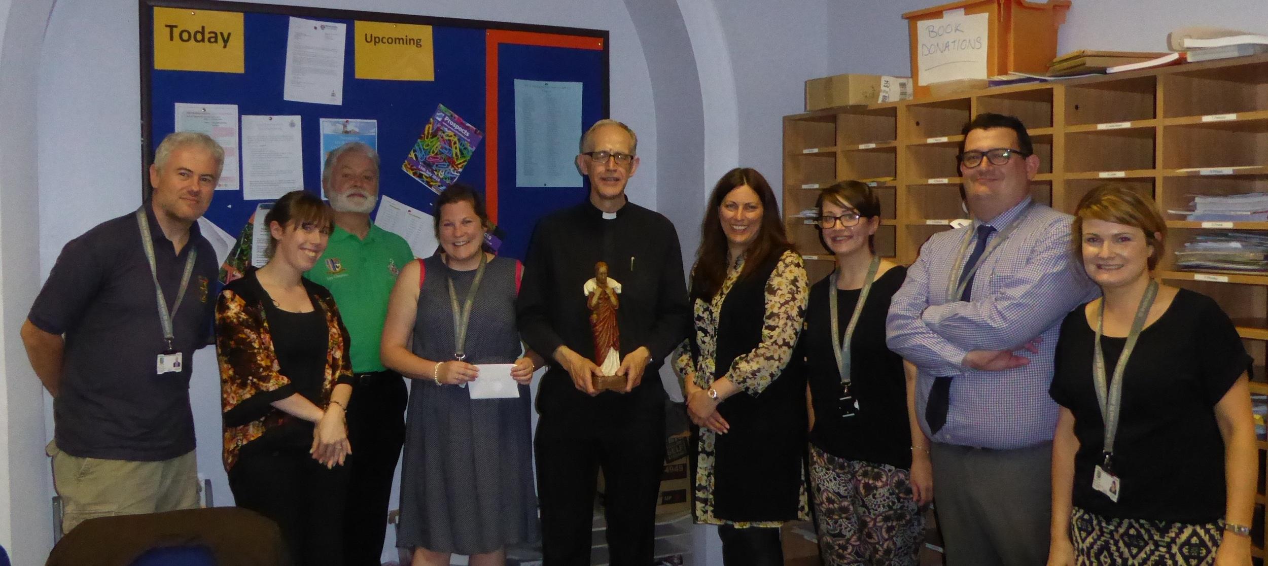 RE Team with Fr Kieron Walker