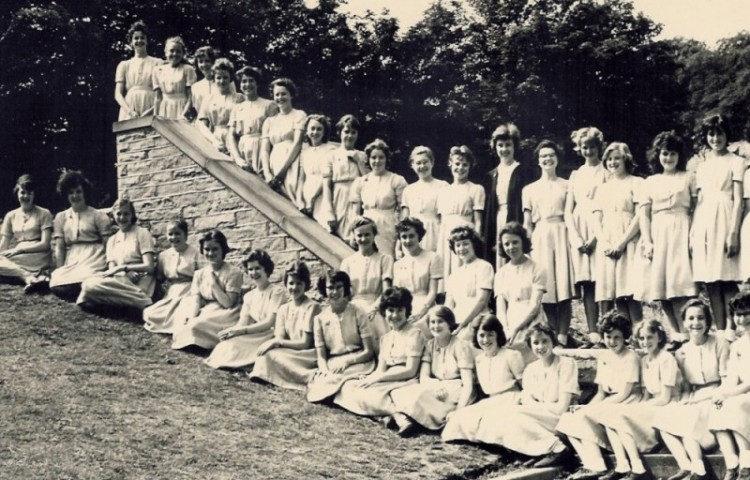 1960 Upper third,the form teacher was Miss Rosemary Atkinson