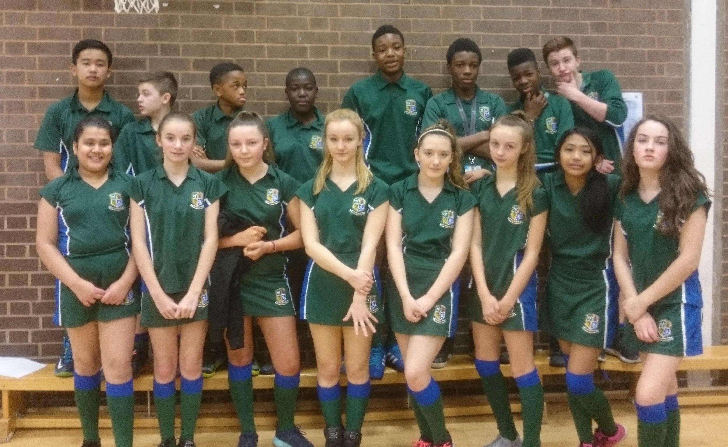 y7 netball team