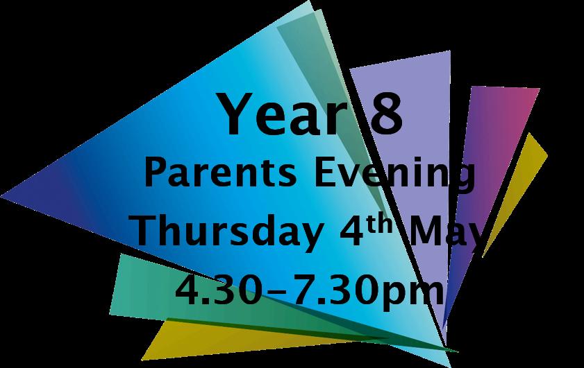 Y8 Parents Evening