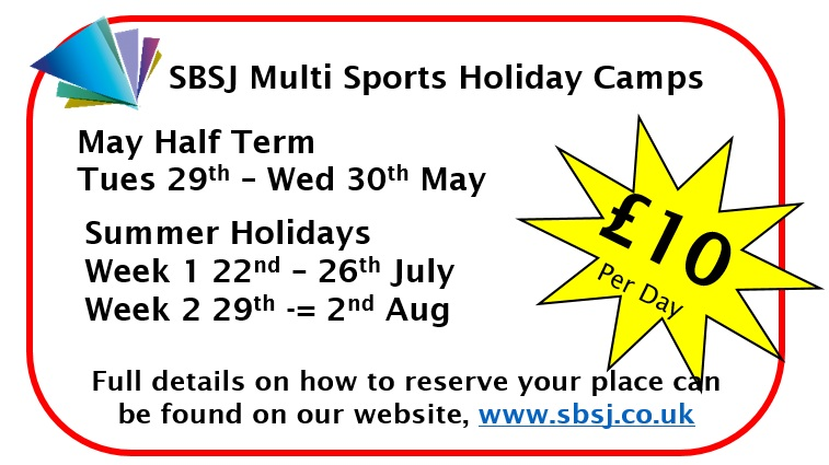Click here for full details on both camps