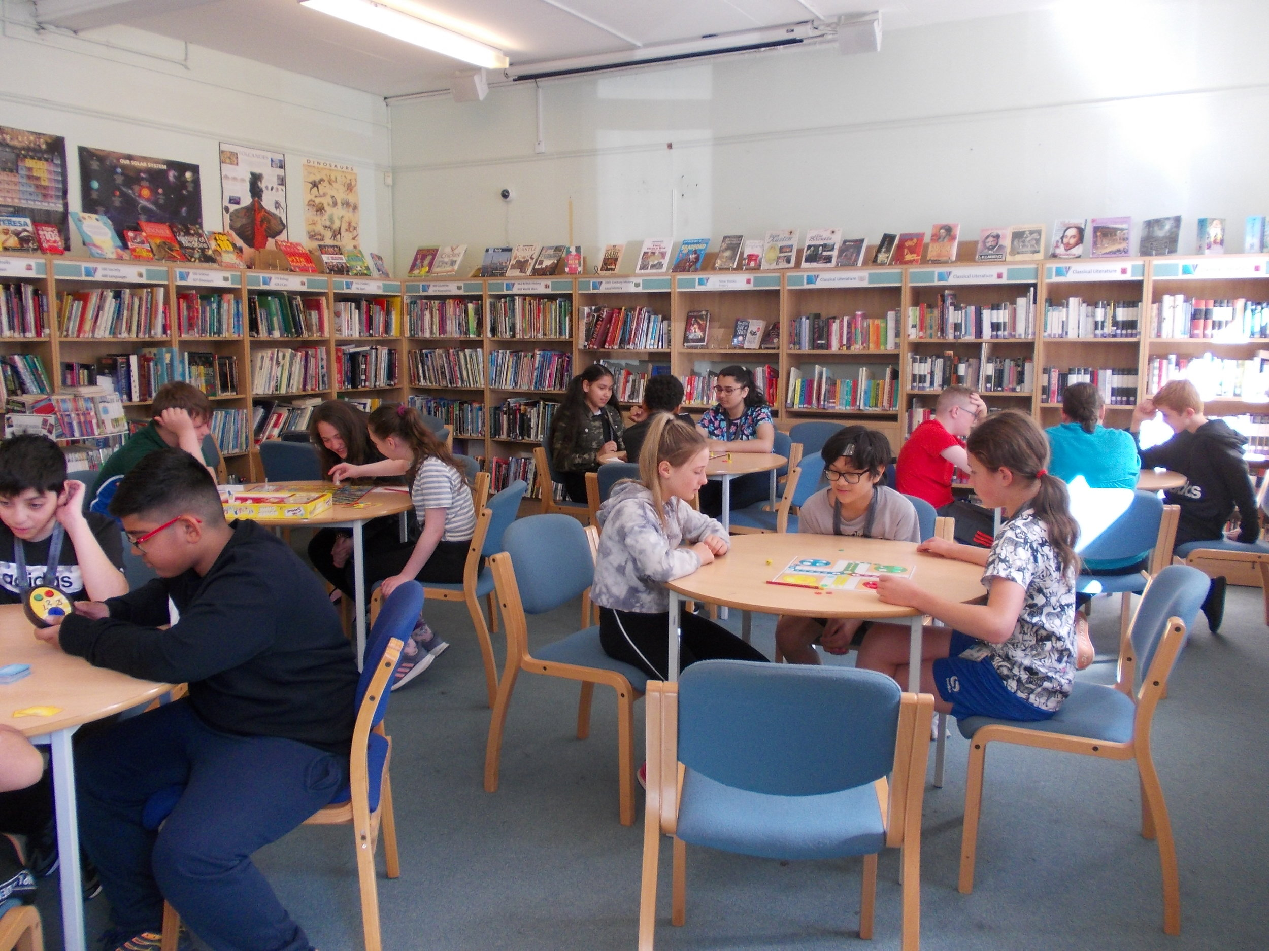 Board games in the library