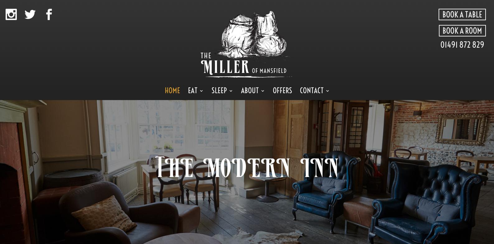 Miller of Mansfield new website 2017