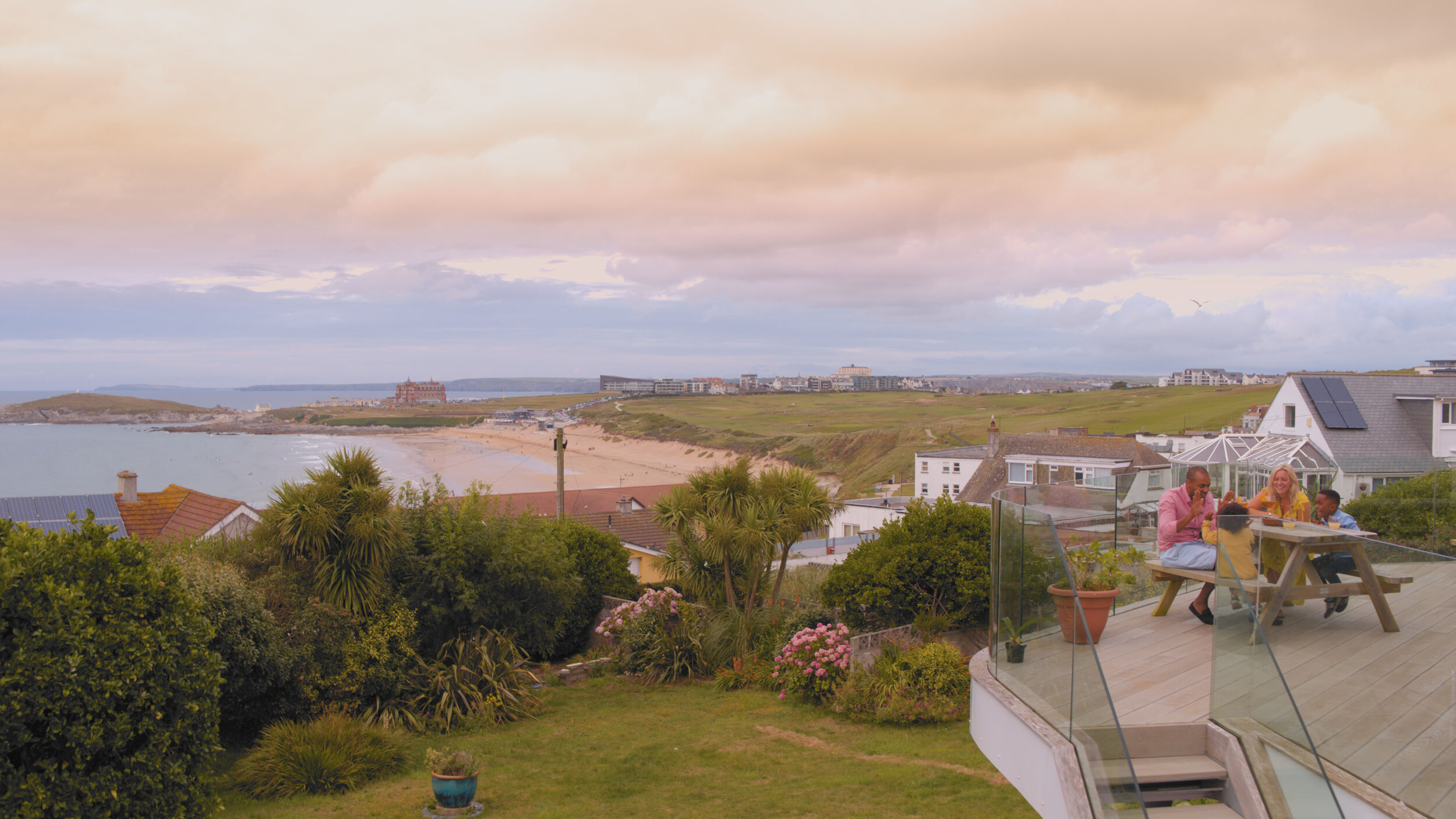 Original Cottages TV advertising campaign was filmed at Red Rails in Newquay