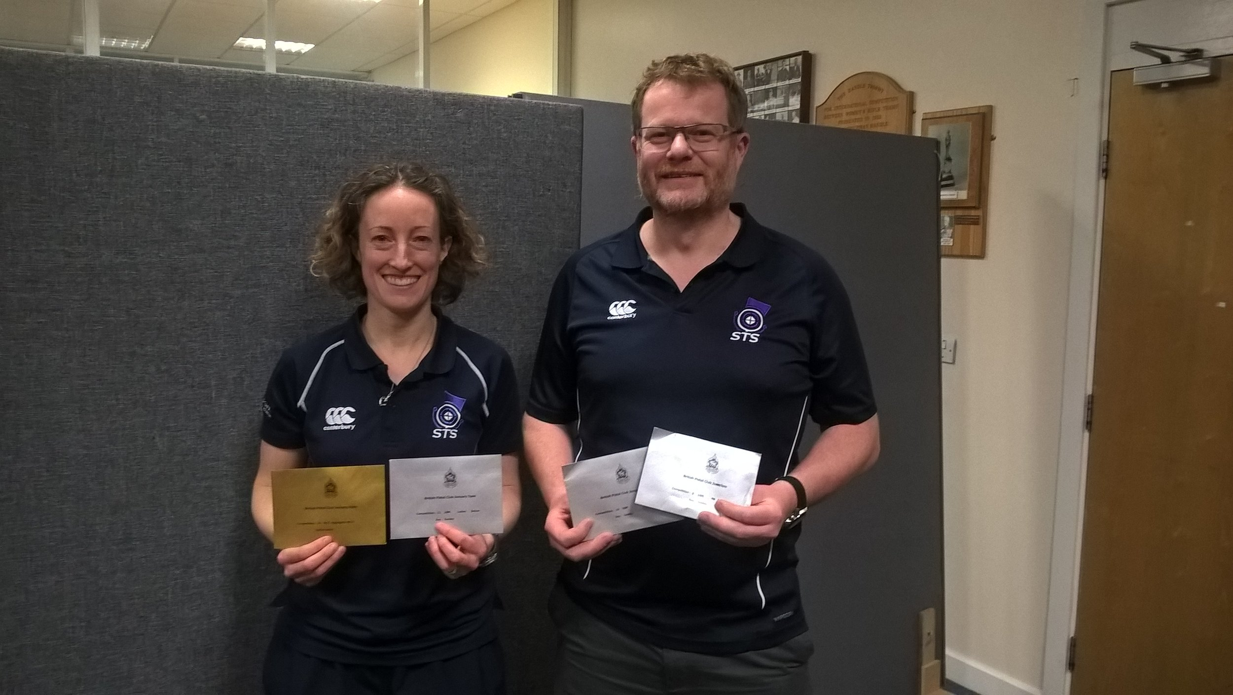 Continued success for Caroline & Alan on Day 2 of the BPC Champs