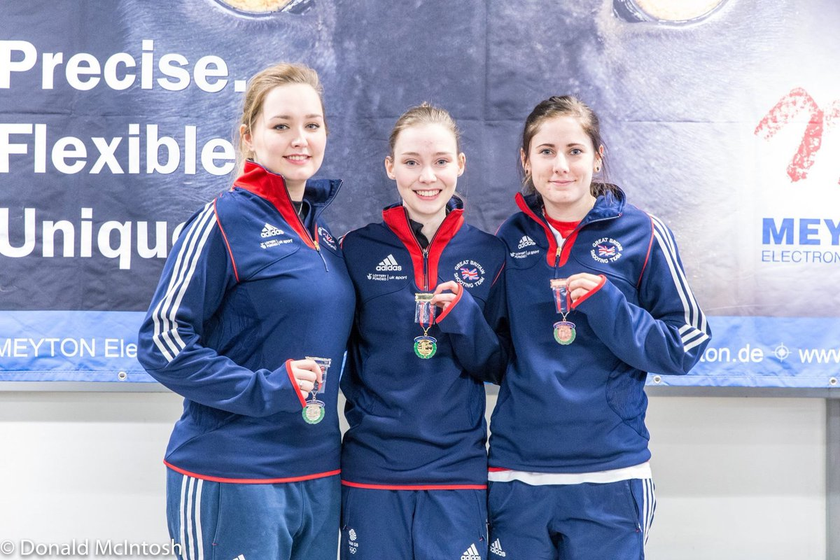 Gold for Seonaid McIntosh, Silver for Jen McIntosh, 3rd Katie Gleeson