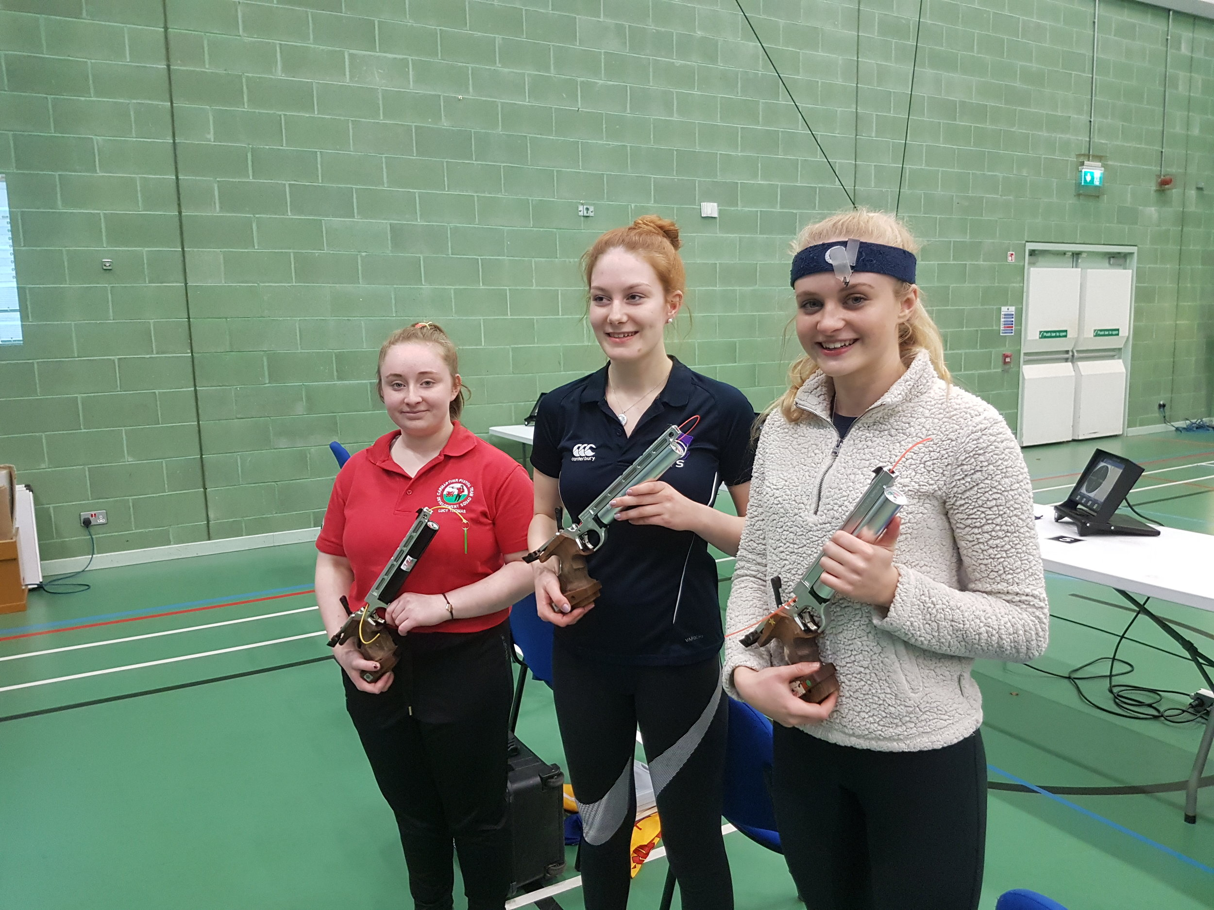 Winners - Women's Junior 10m Air Pistol Championships