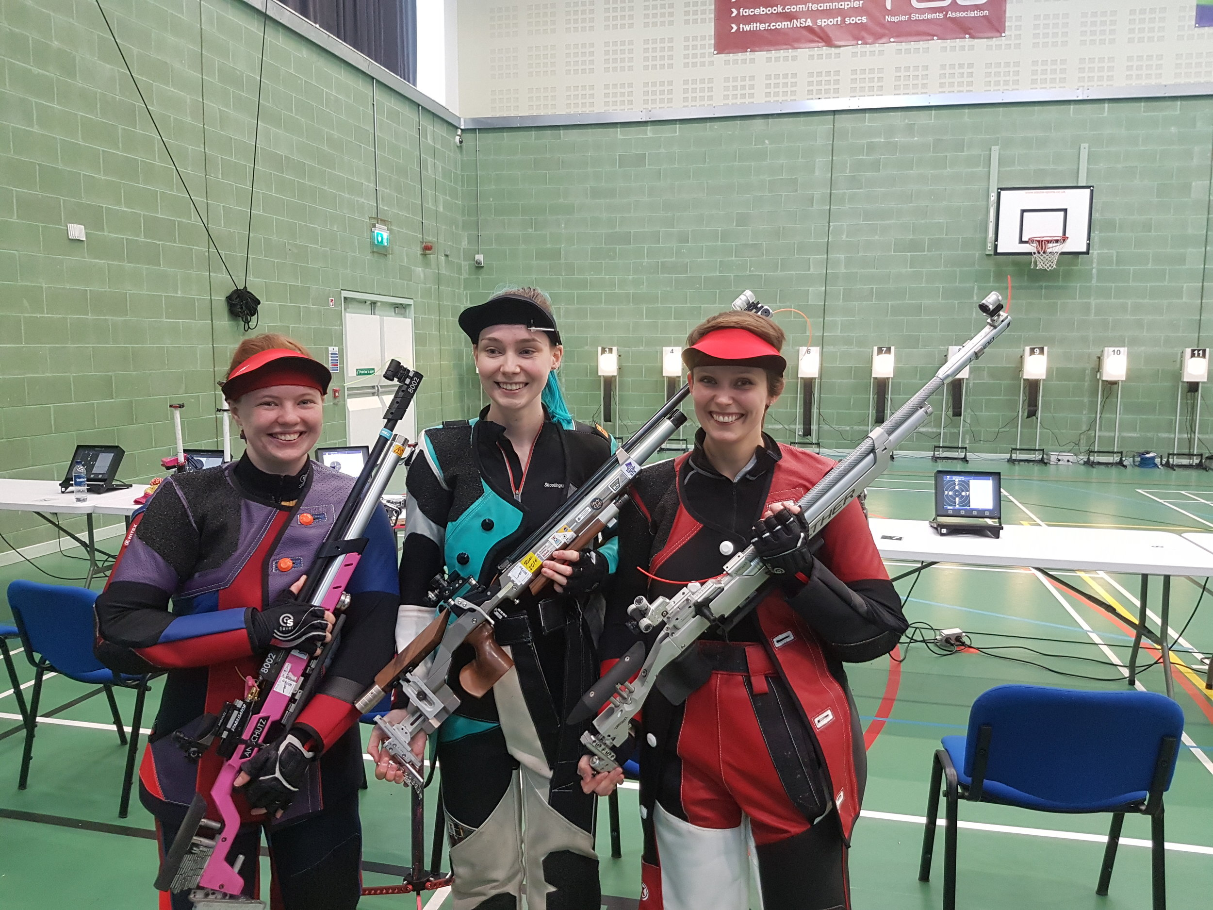 Winners - Women's 10m Air Rifle Championships
