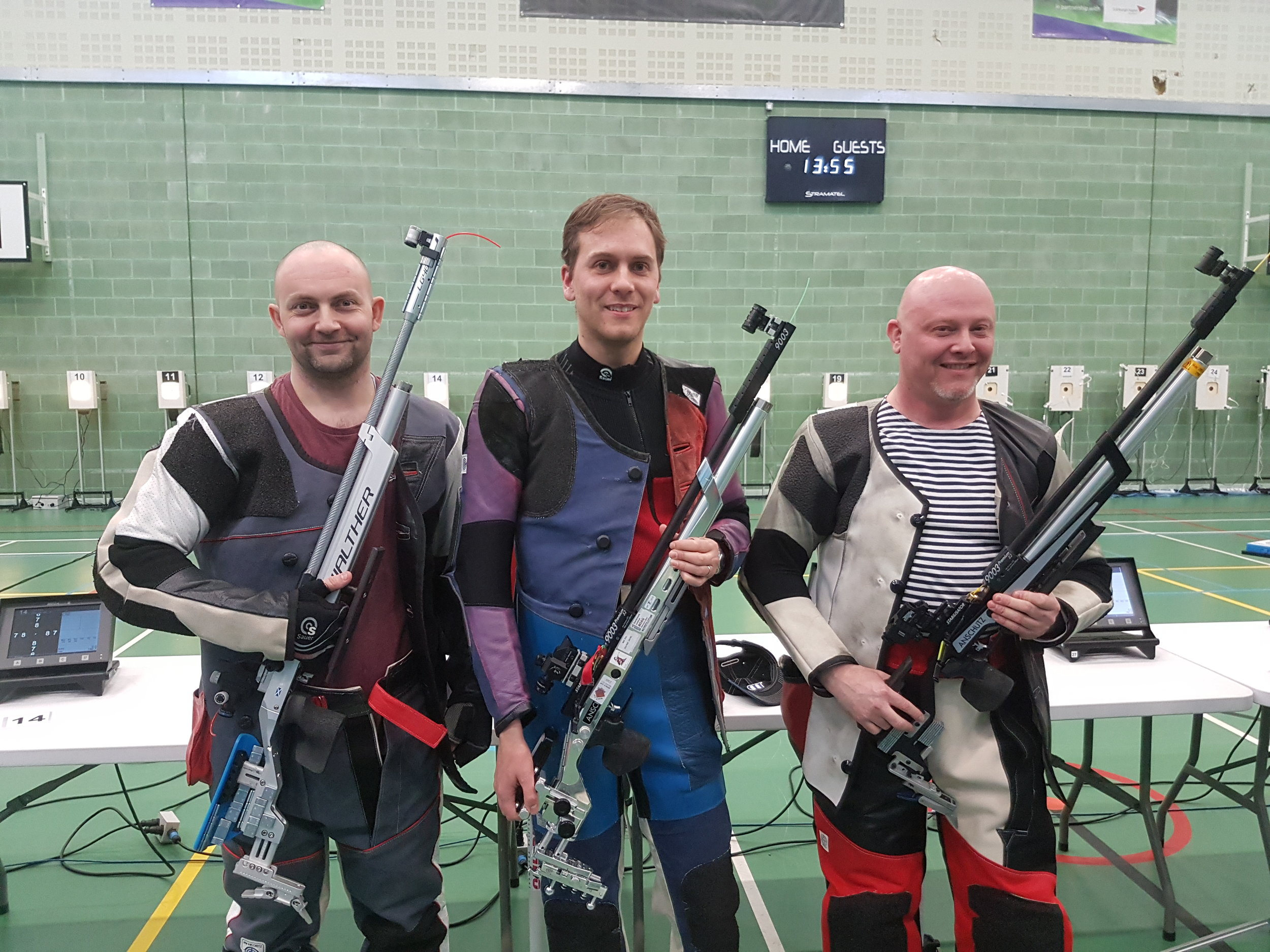 Winners - Men's 10m Air Rifle Championships