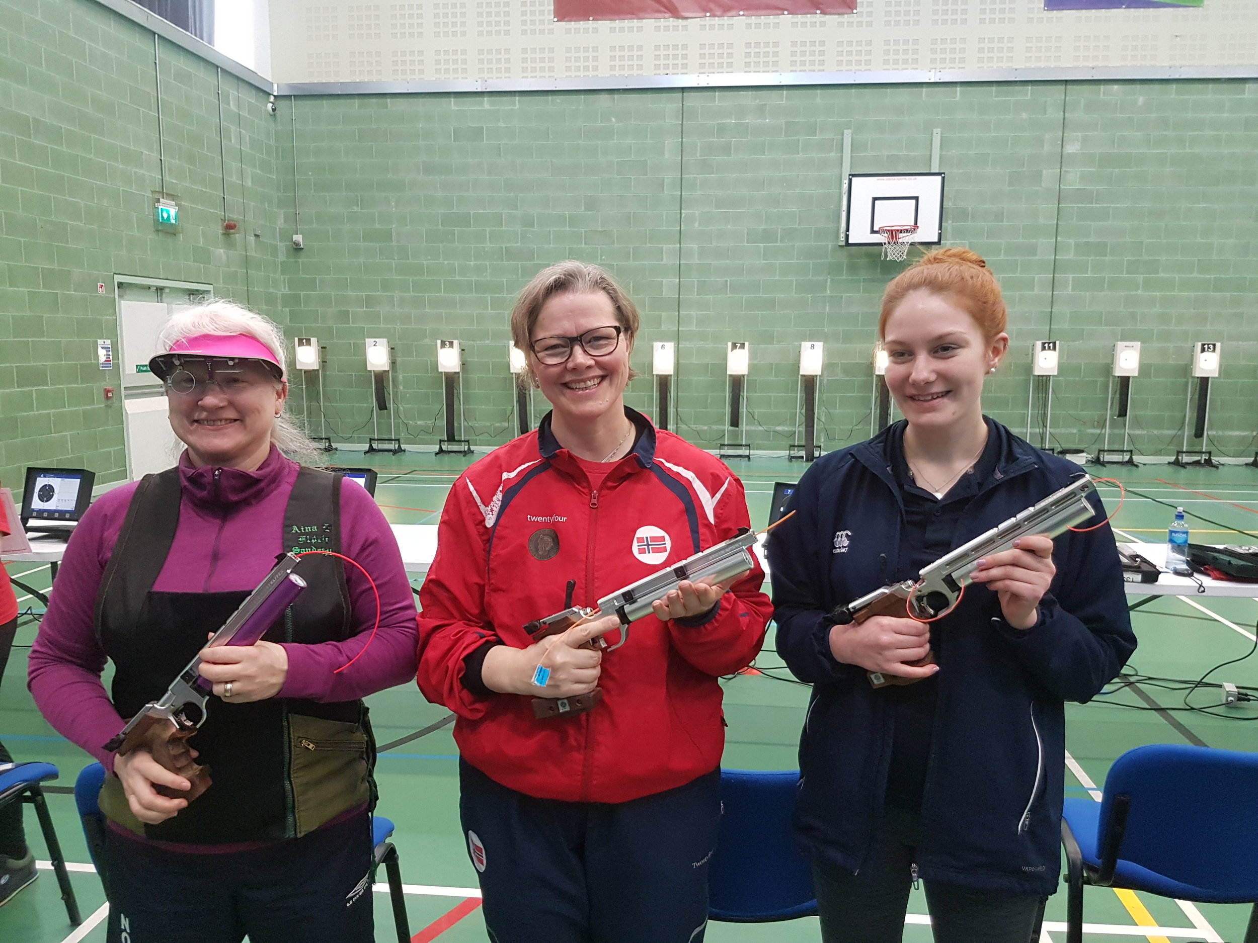 Winners - Women's 10m Air Pistol Championships