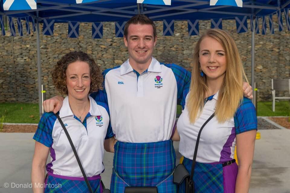 Caroline Brownlie, Aedan Evans, Jess Liddon