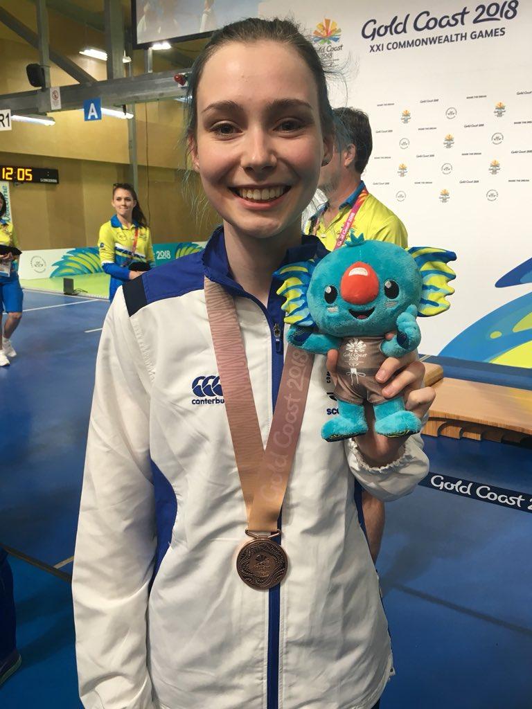 Seonaid won a fantastic Bronze in the Prone