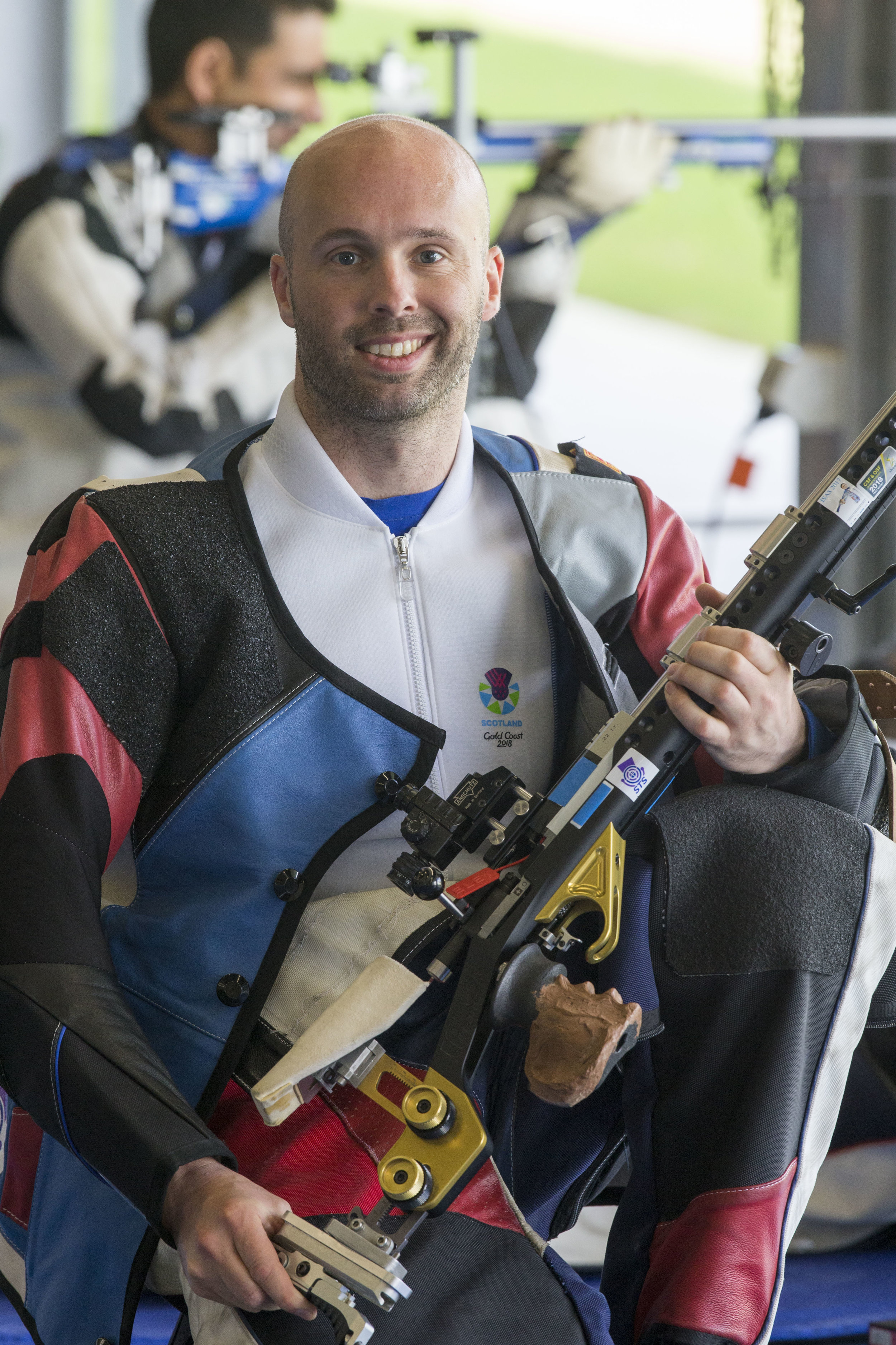 Neil was competing in his second event aiming for a second medal
