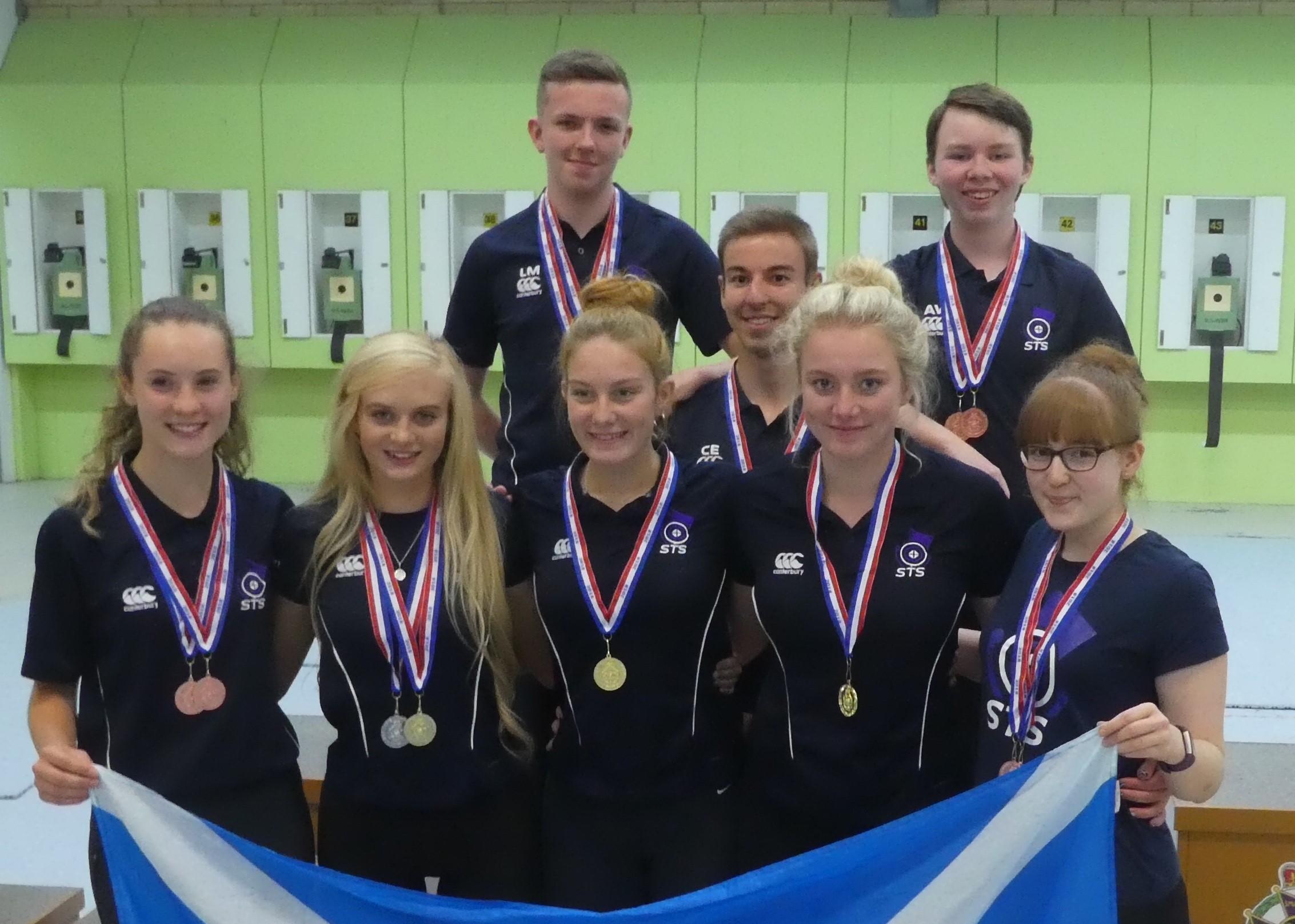 Congratulations everyone in the 2018 Junior International Scottish Team