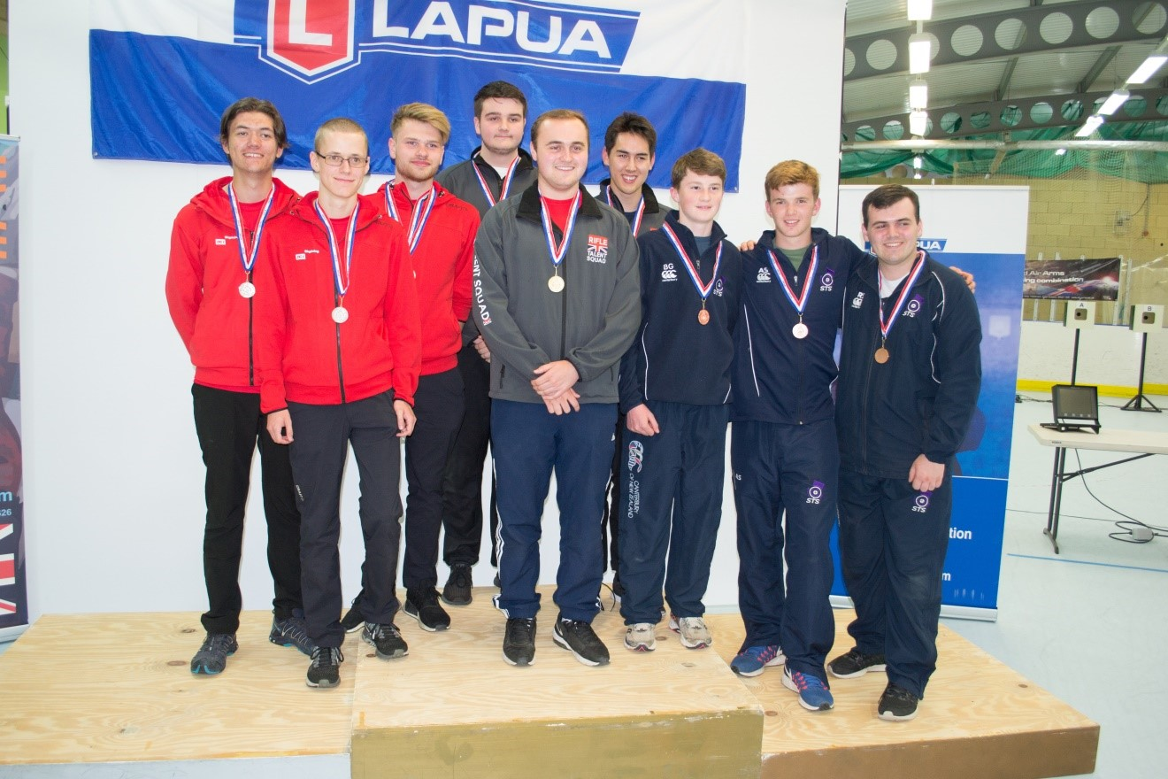 Robin and Bertie were joined by Angus to win the Bronze medal behind the GB Juniors and Denmark.