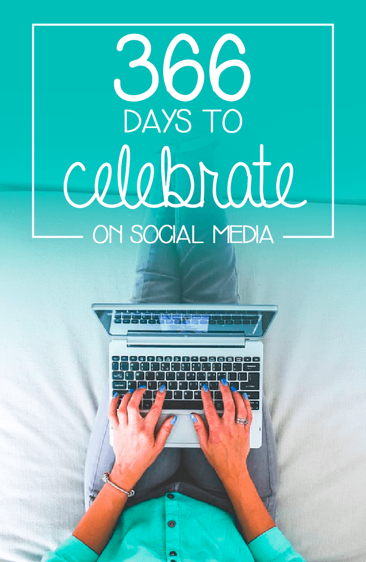 366 Days to Celebrate in Social Media - Garlic Friday Blog