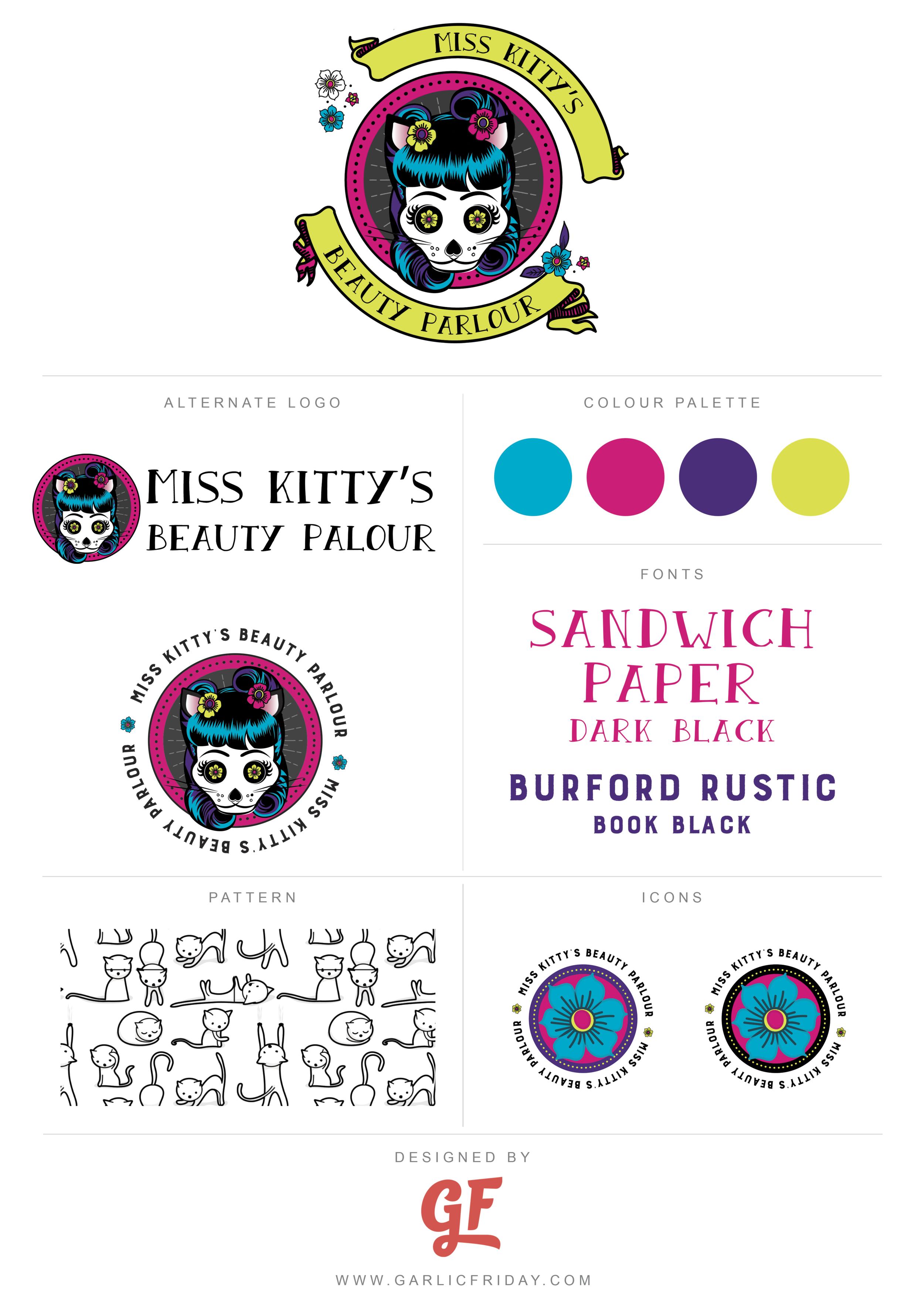 miss-kittys-logo-brand-style-board